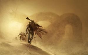 Dune cover art by Henrik Sahlstrom