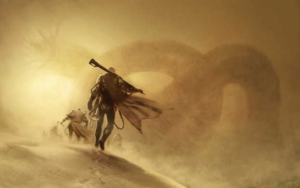 Dune cover art by Henrik Sahlstrom