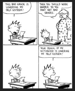 Calvin on Victimhood