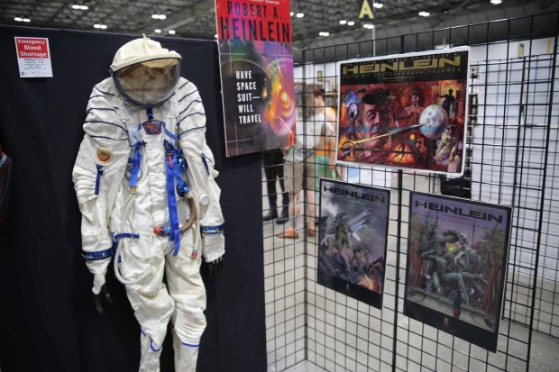 Have Russian spacesuit, will travel - Heinlein exhibits