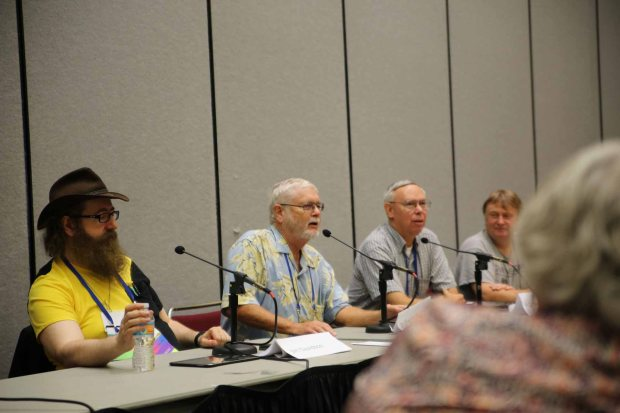Jim Davidson, Greg Benford on immortality panel