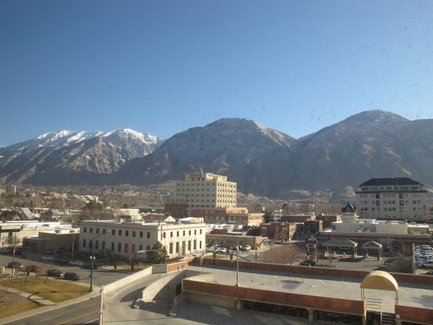 View of Provo from Marriott