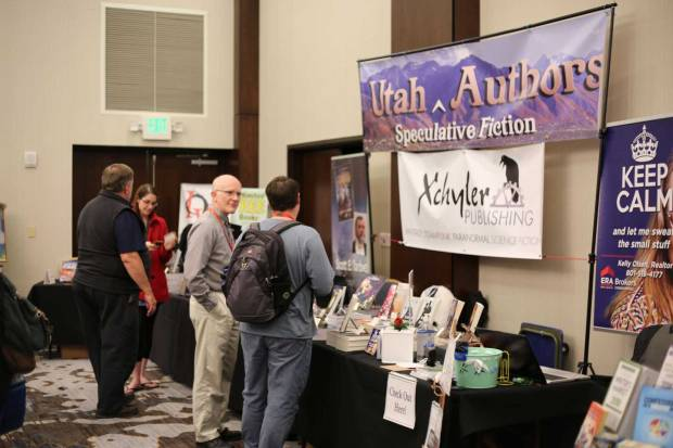 LTUE: Xchyler book booth