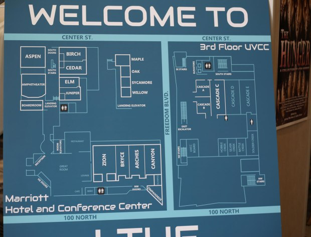 LTUE conference room map