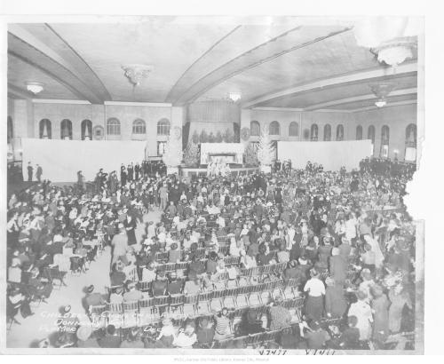 Christmas Pageant at the Pla Mor Ballroom, Kansas City, 1939